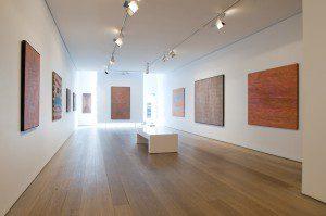 Aboriginal Masters Exhibition at Olsen Irwin; main gallery © Olsen Irwin