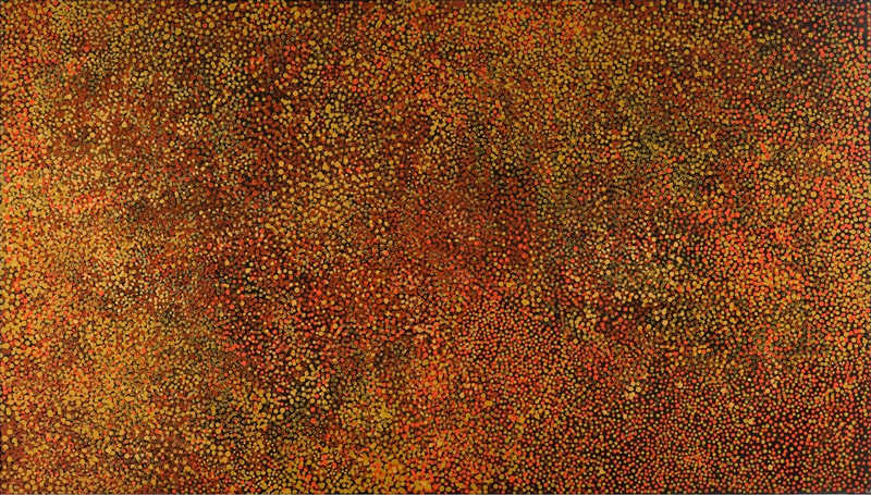 Emily Kngwarreye, Awelye 1990, sold to an Australian collector by private treaty
