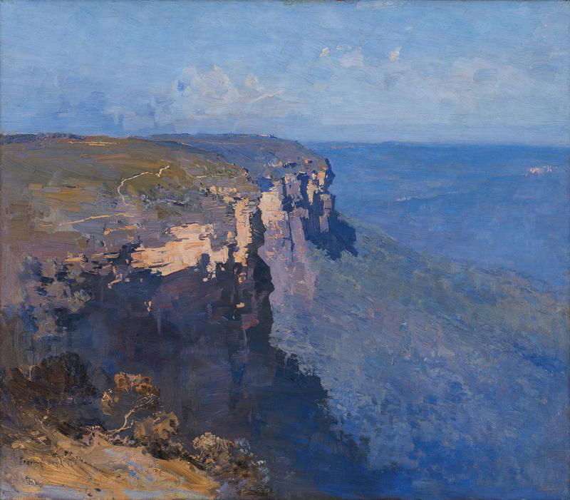 Theodore Penleigh Boyd Blue Mountains 1922, acquired for an international client at auction in Australia