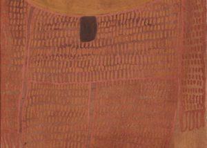 Alec Mingelmanganu, Wanjina, 1980. Sold to Australian Corporate Art Collection 2018.