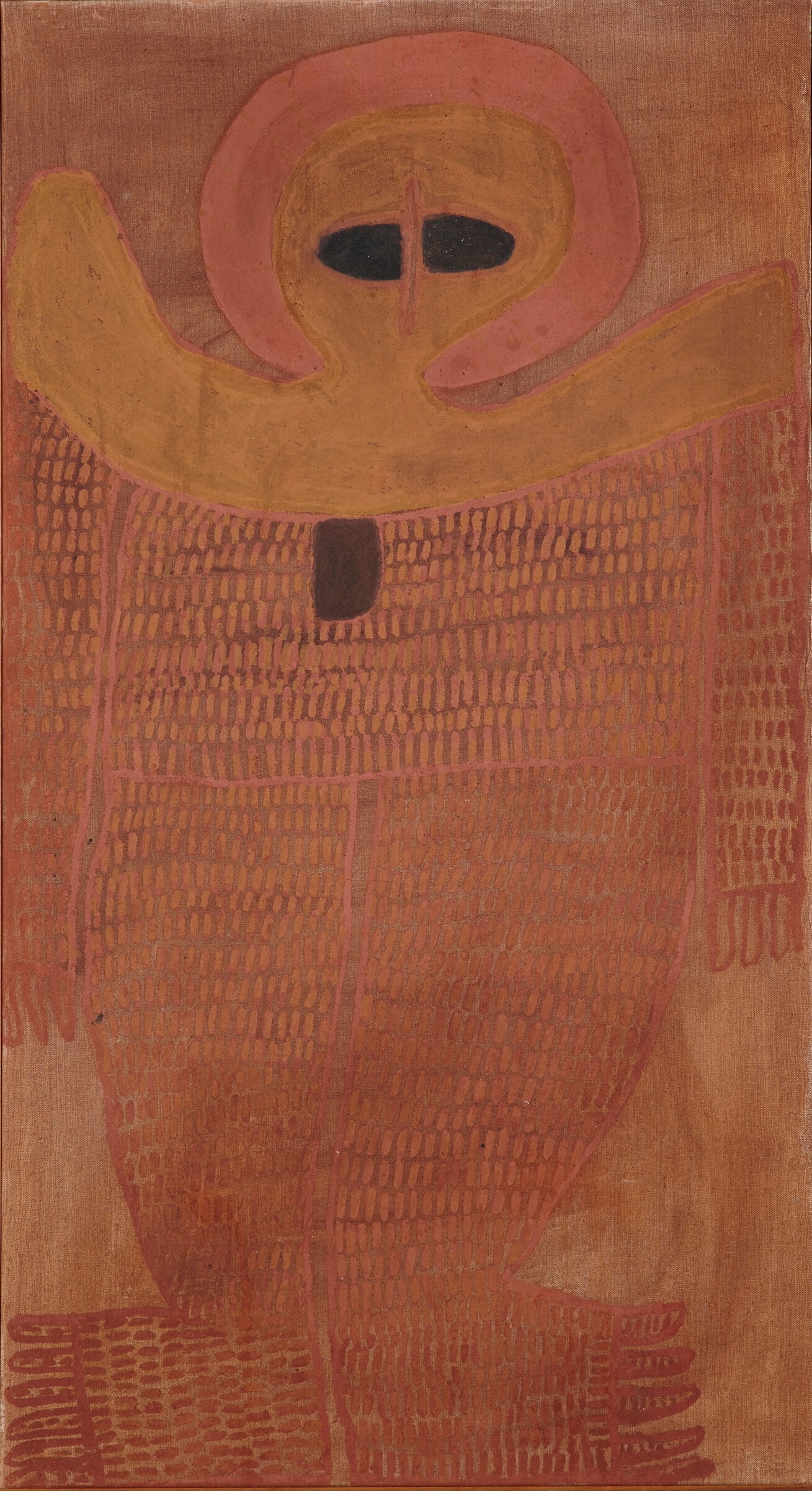 Alec Mingelmanganu, Wanjina, 1980. Sold to Australian Corporate Art Collection 2018.