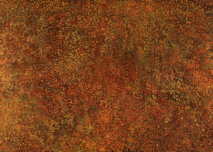 Emily Kame Kngwarreye (circa 1916-1996) Alhalkere, 1990 Bears artsist's name and Delmore Gallery catalogue nukber EM0O01 on the reverse Acrylic on Belgian linen 122cm by 214cm